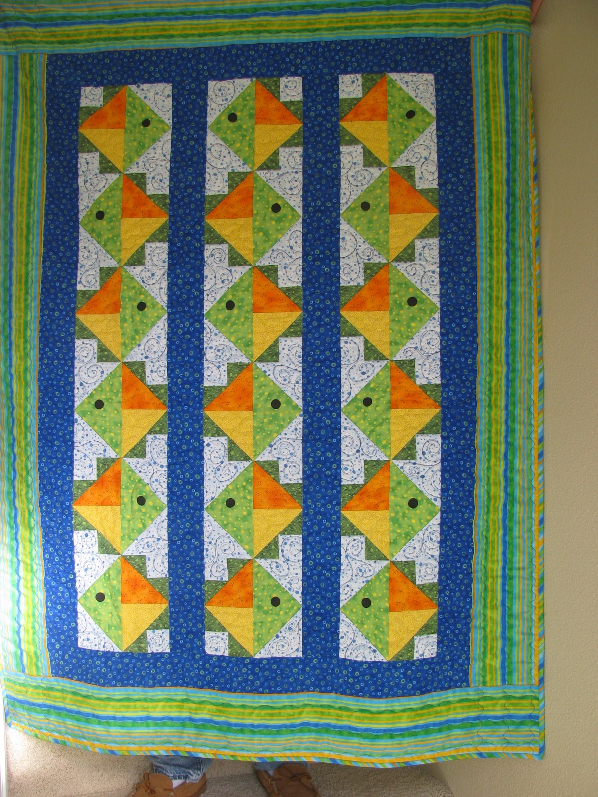 little my was made quilt home s while dsc enough a melbourne sew one too lol make blocks group for were gift the offered finished i to time by fish quilts long many get