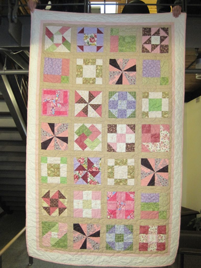 Kris's Quilt Finished