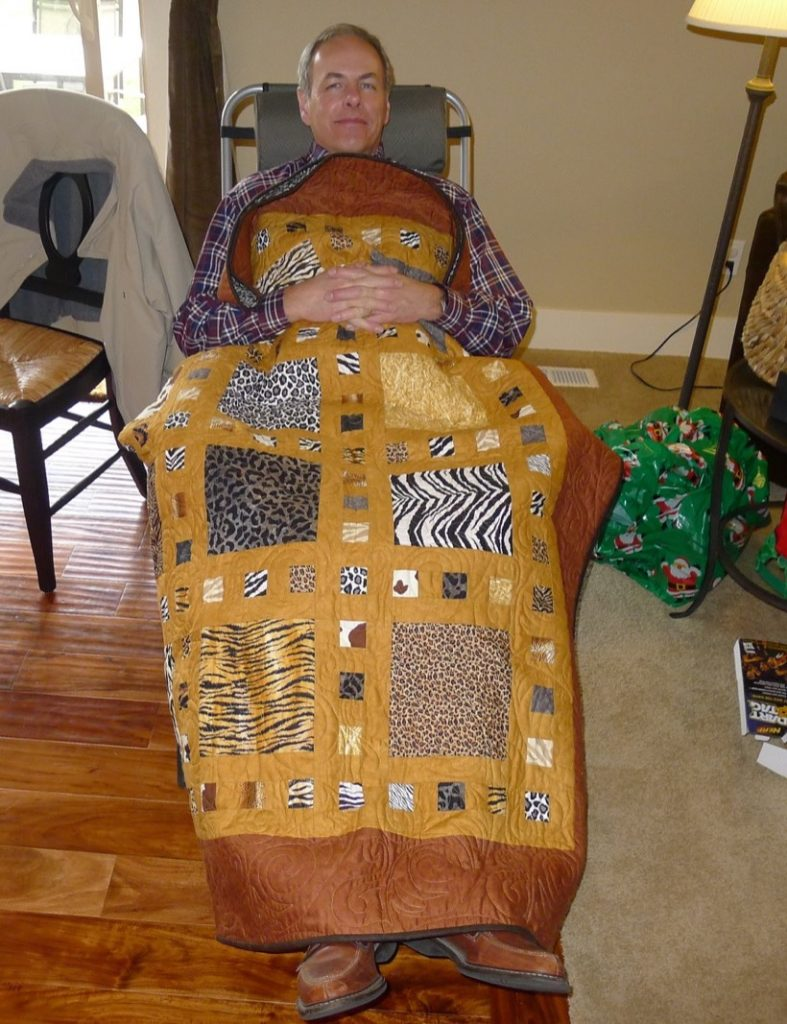 Slide Show quilt pattern by Terry Atkinson of Atkinson Designs, Merry Christmas!