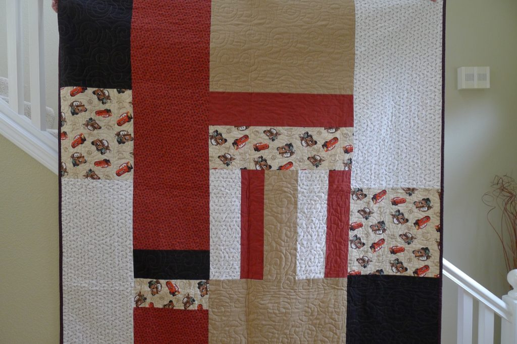 Labyrinth by Debbie Maddy of Calico Carriage Quilt Designs, Finished quilt back
