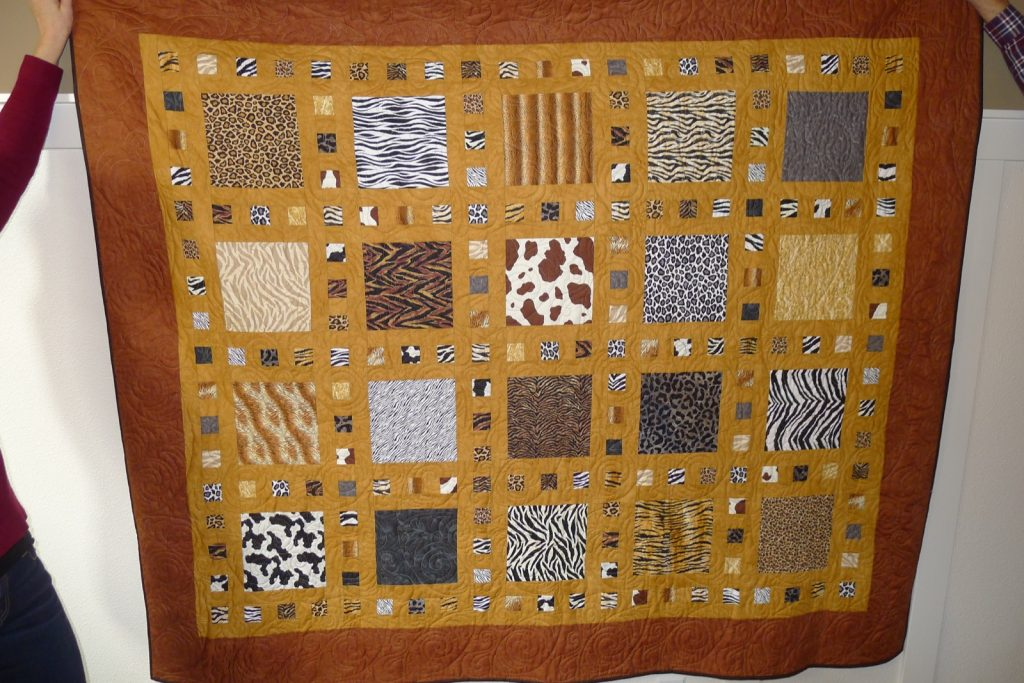 Slide Show quilt pattern by Terry Atkinson of Atkinson Designs, Finished quilt