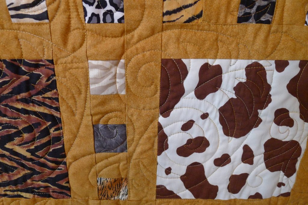 Slide Show quilt pattern by Terry Atkinson of Atkinson Designs, Finished quilt detail
