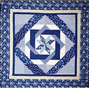 Labyrinth by Debbie Maddy of Calico Carriage Quilt Designs, My idea for a square queen