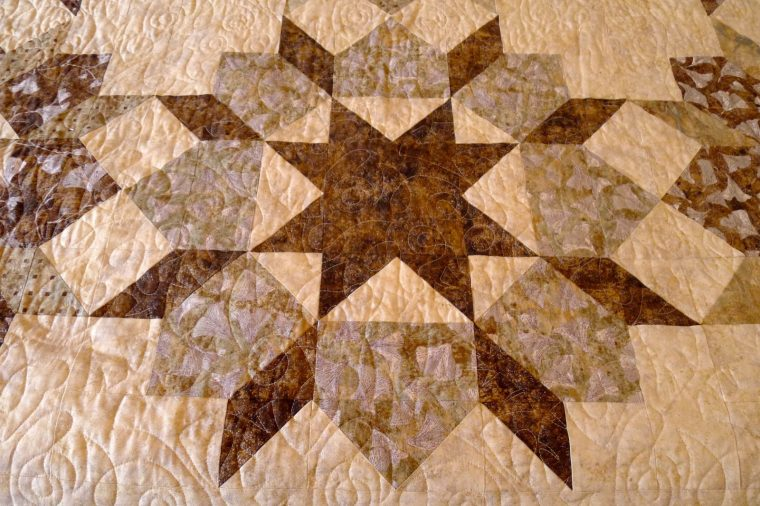 Quilted Swoon block