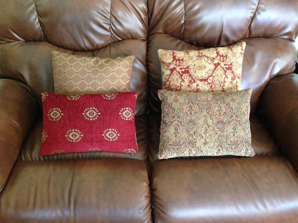 Pillows for chairs