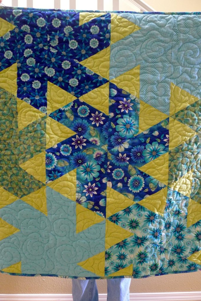 Ballerina quilt pattern by Jaybird Quilts, Finished quilt 2