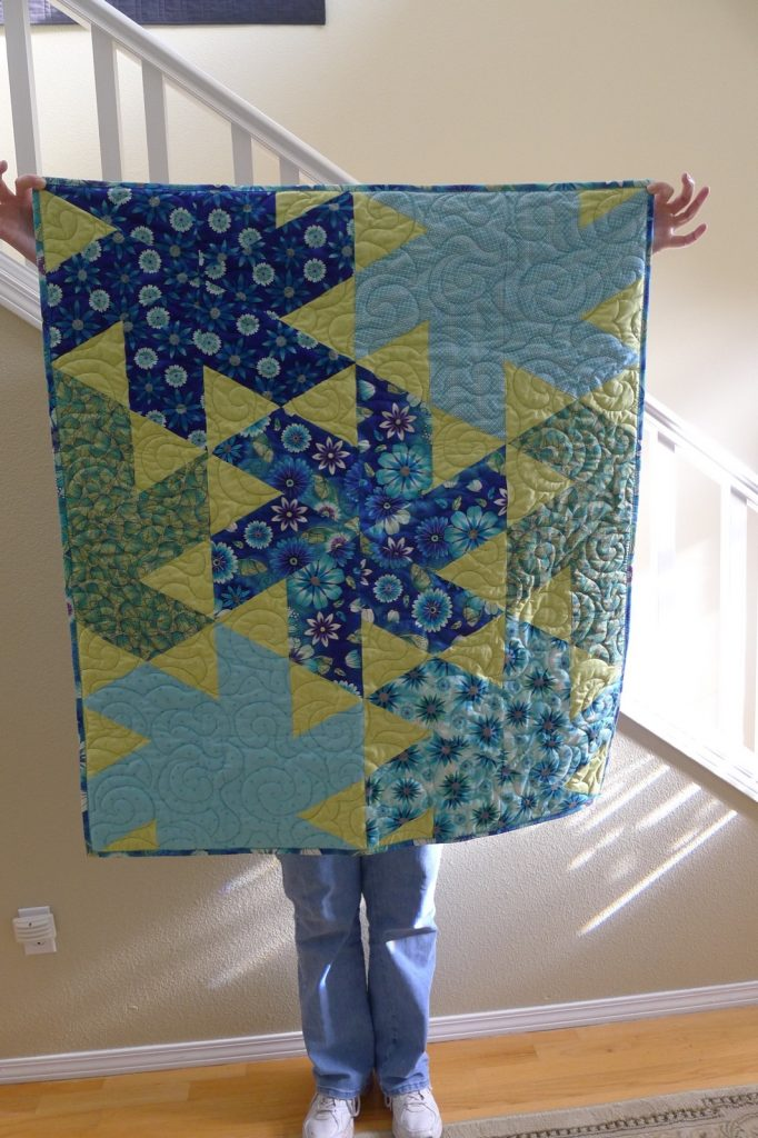 Ballerina quilt pattern by Jaybird Quilts, Finished quilt 1