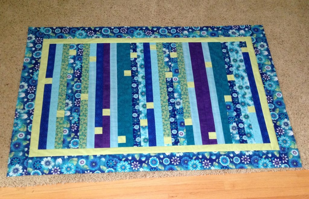 Finished jelly roll race top