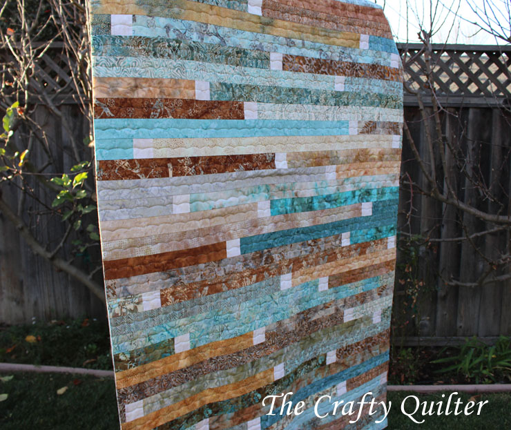 Jelly roll race by The Crafty Quilter