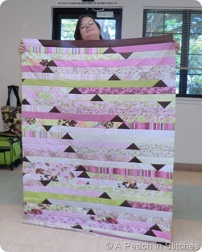 Jelly roll race by A Peach in Stitches