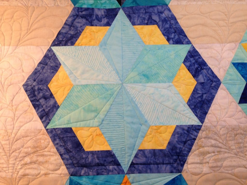 Park Bench by Jaybird Quilts - Block 1a Picnic