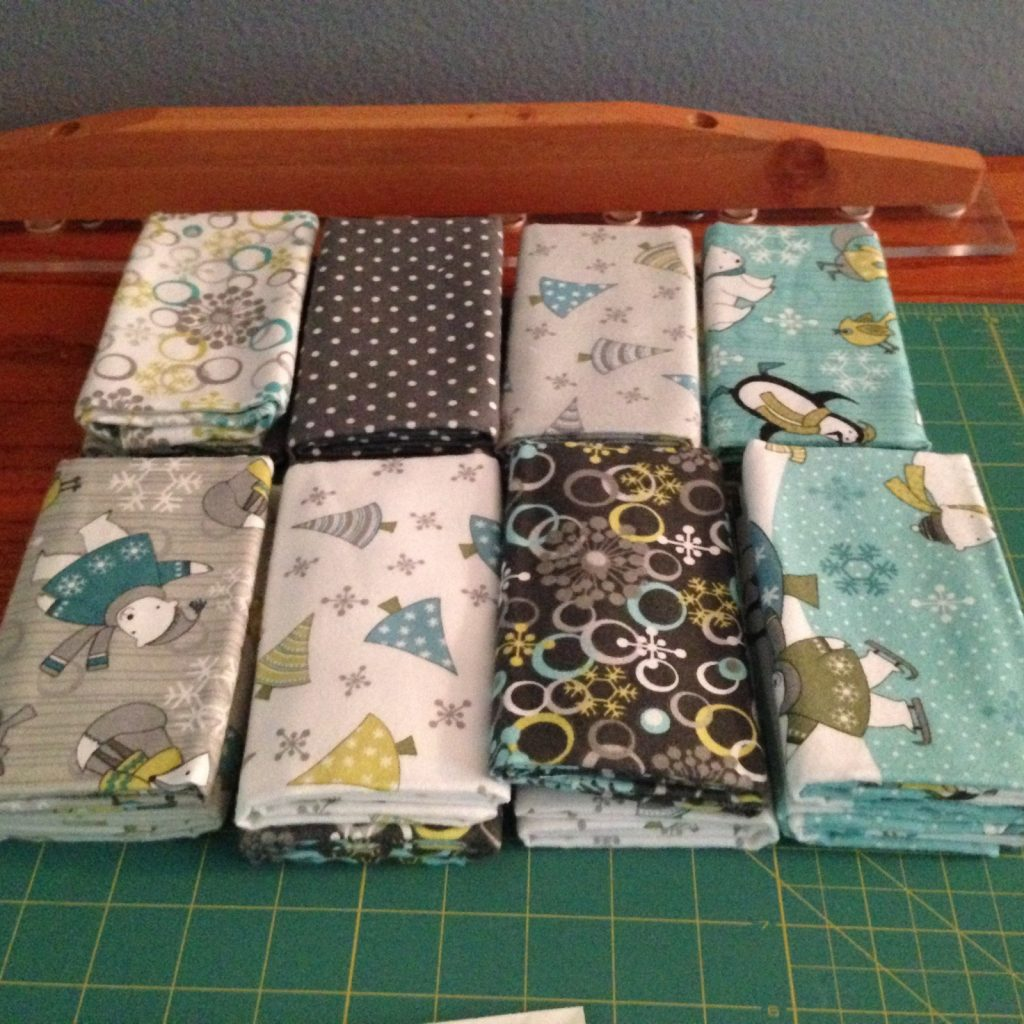 Flannel fabrics for rag quilt