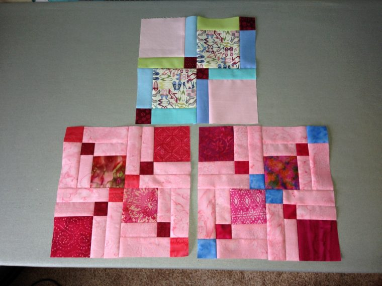 Blocks I made for Tracie's quilt