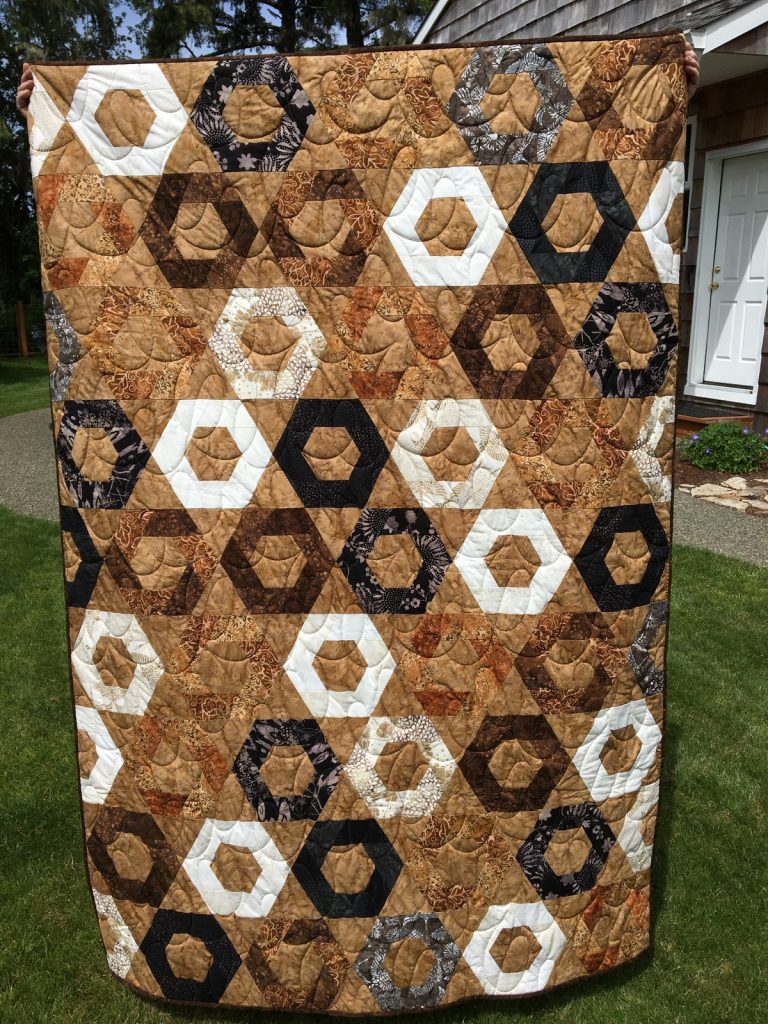 Snack Time by Jaybird finished quilt