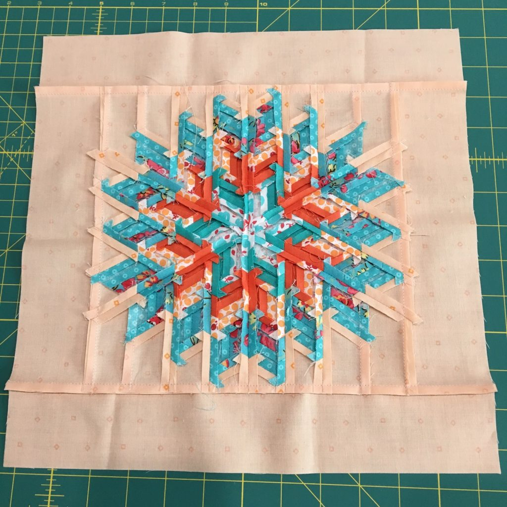 Glimmer by Jaybird pillow backside seams