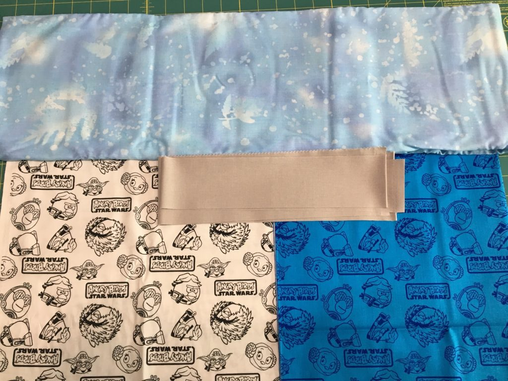 Trail Mix quilt fabric choices