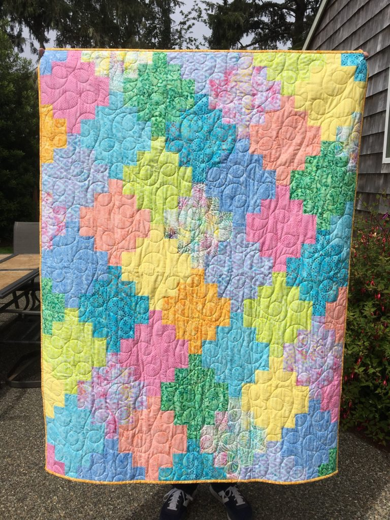 Vintner's Bouquet finished quilt