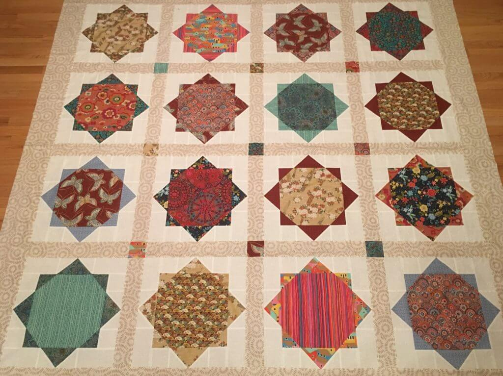 Judy's Sweet Life quilt