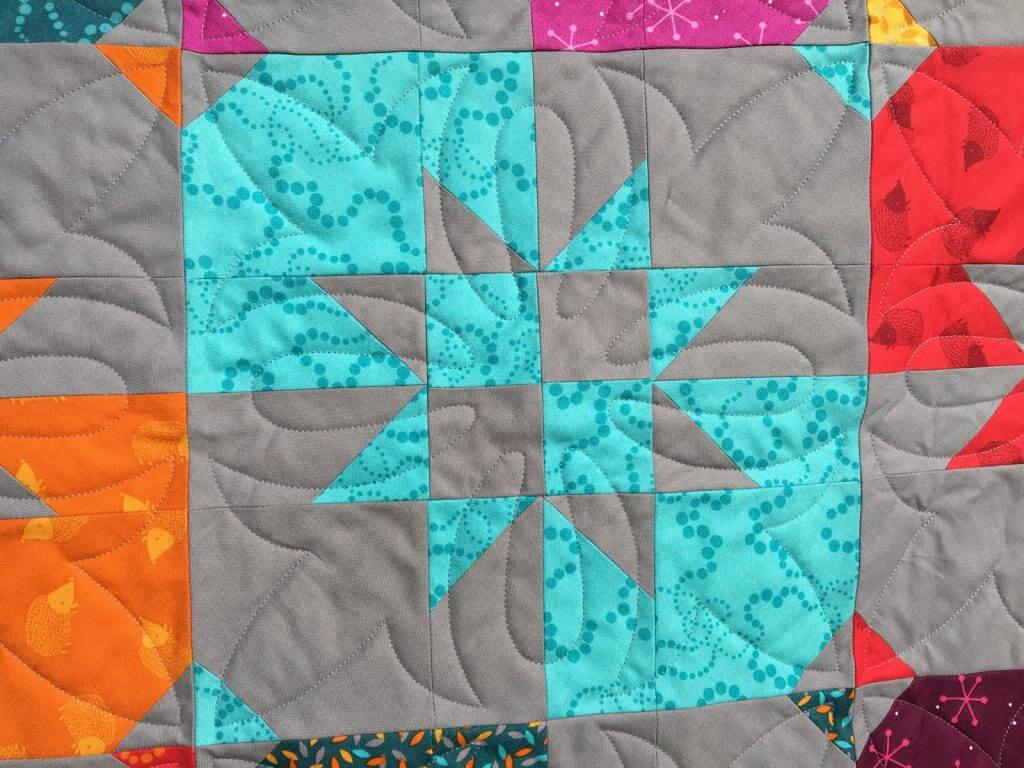Disappearing hourglass quilt detail 2